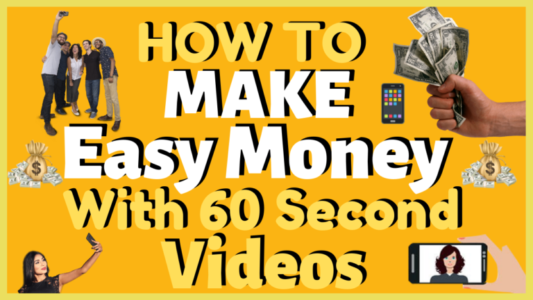 How To Get Easy Money >> How To Make Easy Money Creating 60 Second Videos Acquire Liberty